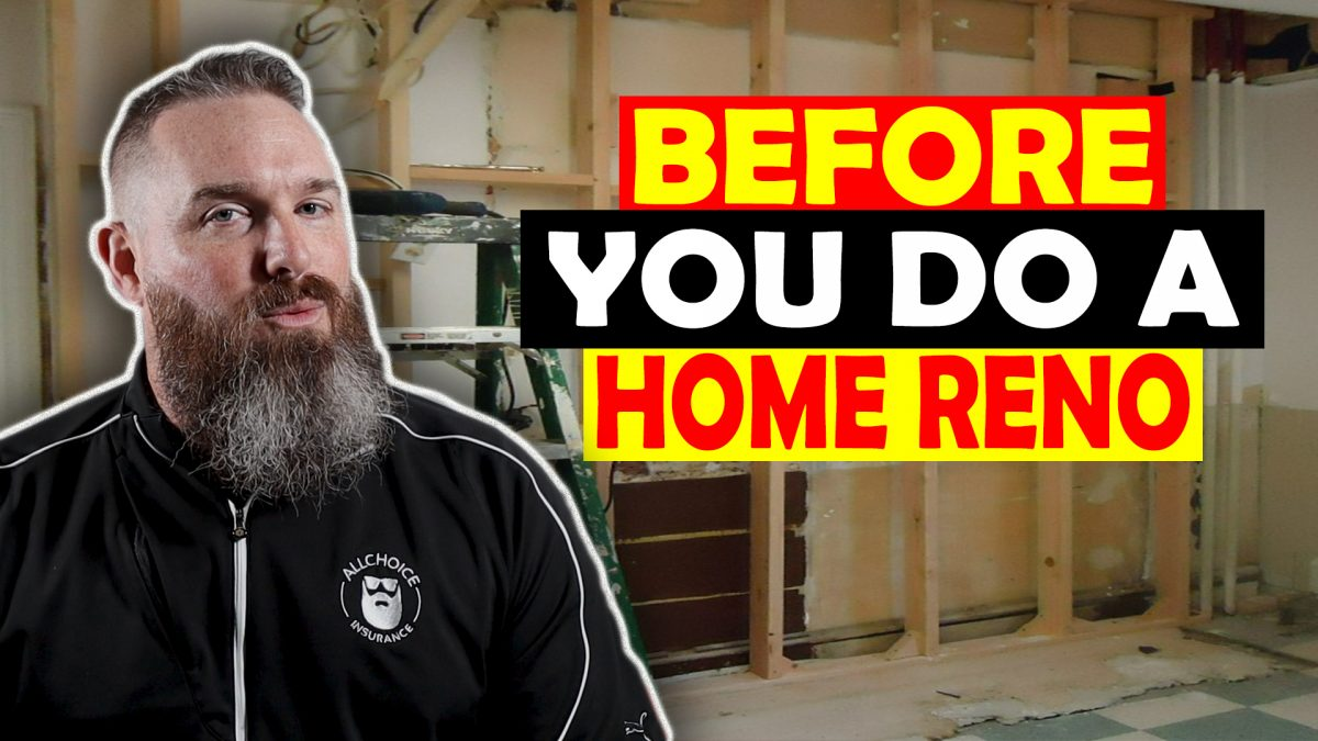 Home Renovations And Insurance - What Every Homeowner Needs To know