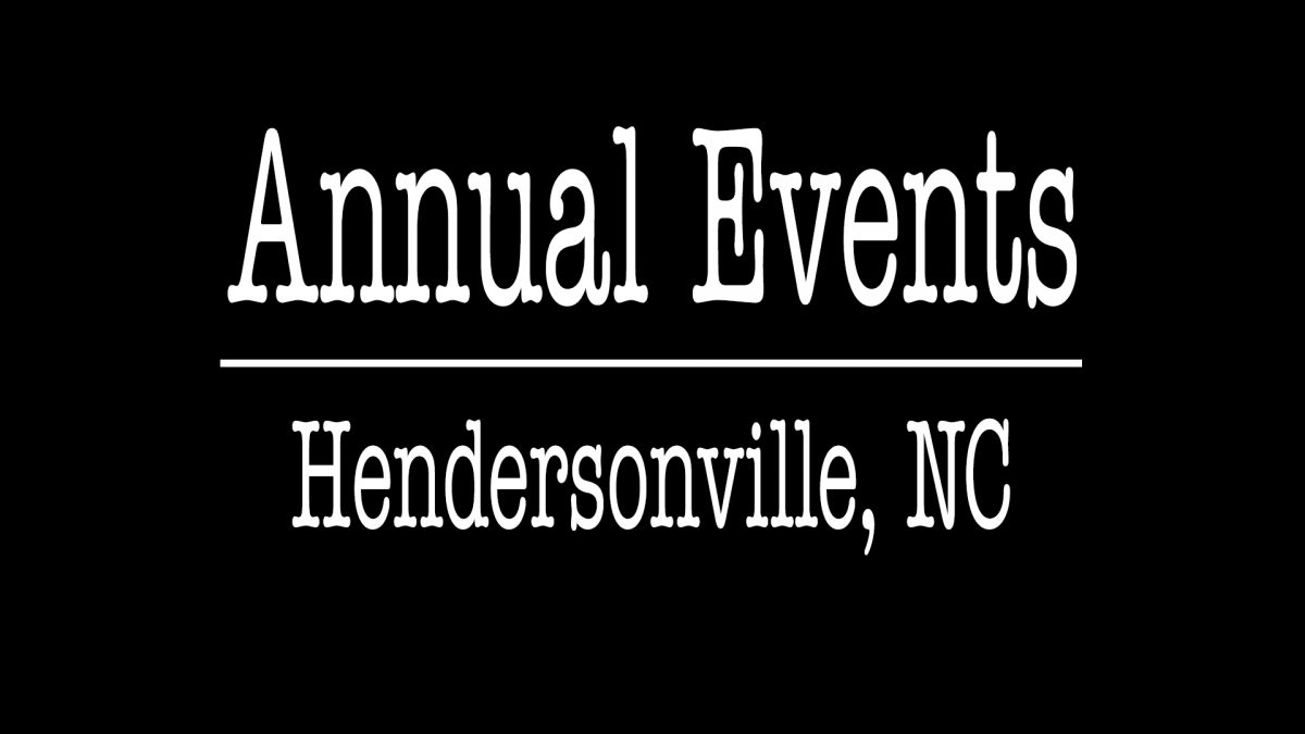 Annual Events Hendersonville NC