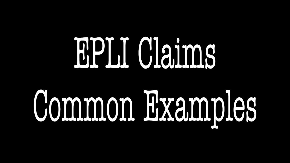 EPLI Claims Examples - ALLCHOICE Insurance - North Carolina