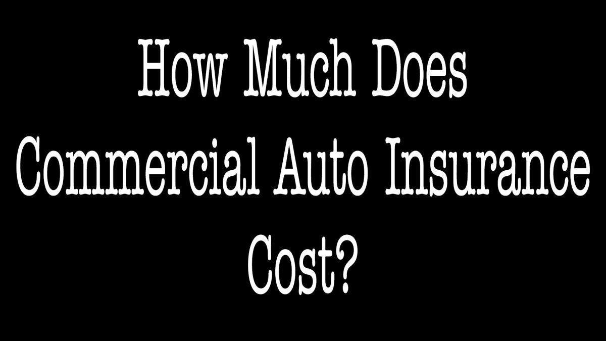 How Much Does Commercial Auto Insurance Cost - ALLCHOICE Insurance - North Carolina