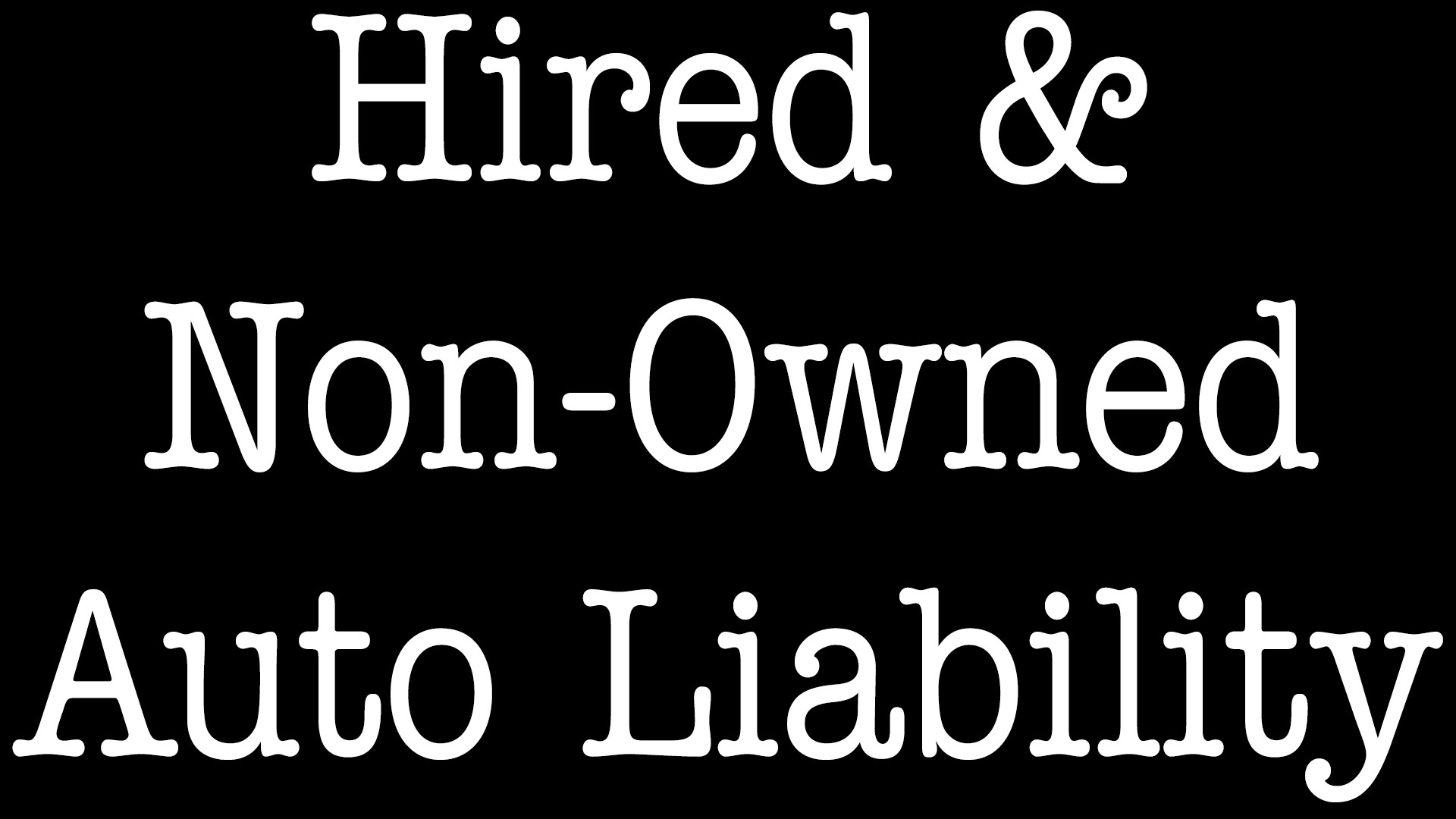 Hired And Non-Owned Auto Liability Insurance - ALLCHOICE Insurance - North Carolina