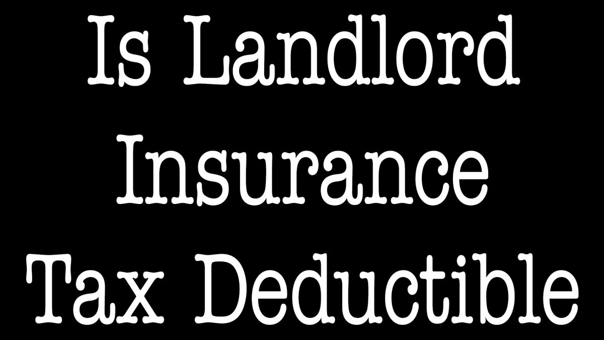 Is Homeowners Insurance Tax Deductible For Rental Property - North Carolina