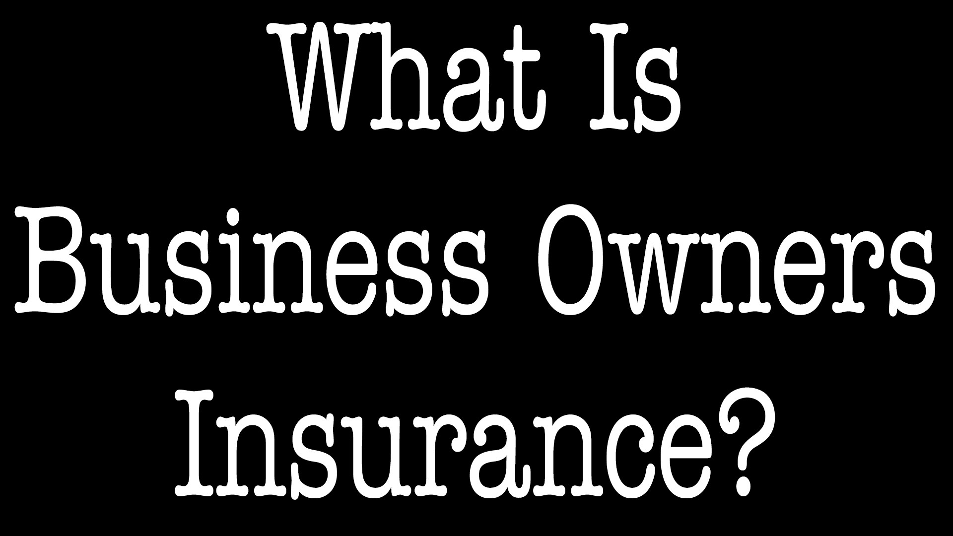 What Is Business Owners Insurance - ALLCHOICE Insurance - North Carolina